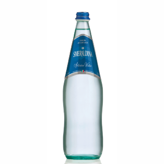 Smeraldina glass 1 lt sparkling (12 bottles per case)