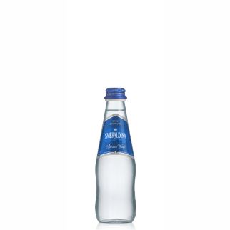 Smeraldina glass 250 ml sparkling (24 bottles per case)