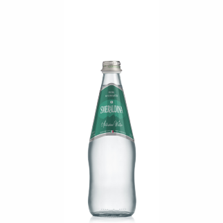 Smeraldina glass 500 ml natural (20 bottles per case)