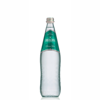 Smeraldina glass 750 ml natural (12 bottles per case)