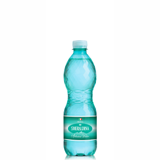 Smeraldina pet 0.5 lt natural: (24 bottles per case)